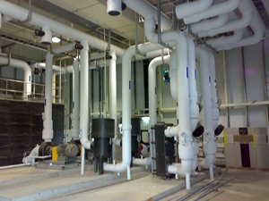Process Cooling Water System description